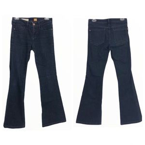 Pilcro and the Letterpress Mid Rise Flare Jeans